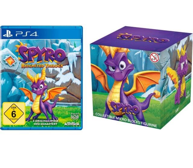 Spyro Reignited Trilogie (PS4) mit Nano Block