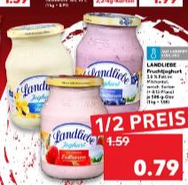 [Lokal Berlin, Kaufland SHQ]  Landliebe Joghurt Kirsch, Erdbeere und Heidelbeere