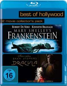 Mary Shelley's Frankenstein & Bram Stoker's Dracula Best of Hollywood 2 Movie Collector's Pack (2 Disc Blu-ray) für 5,99€ (JPC)
