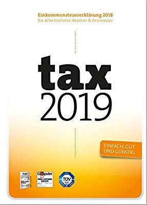 Buhl tax 2019 als Code oder Disc - für Steuerjahr 2018 [Amazon]