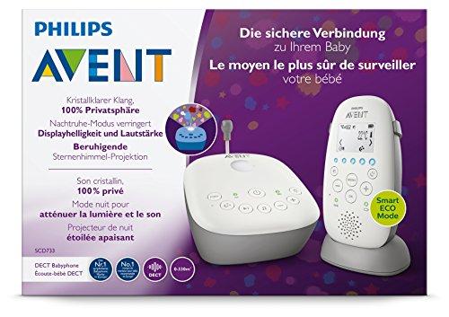 [Amazon] Philips Avent Audio-Babyphone SCD733/26