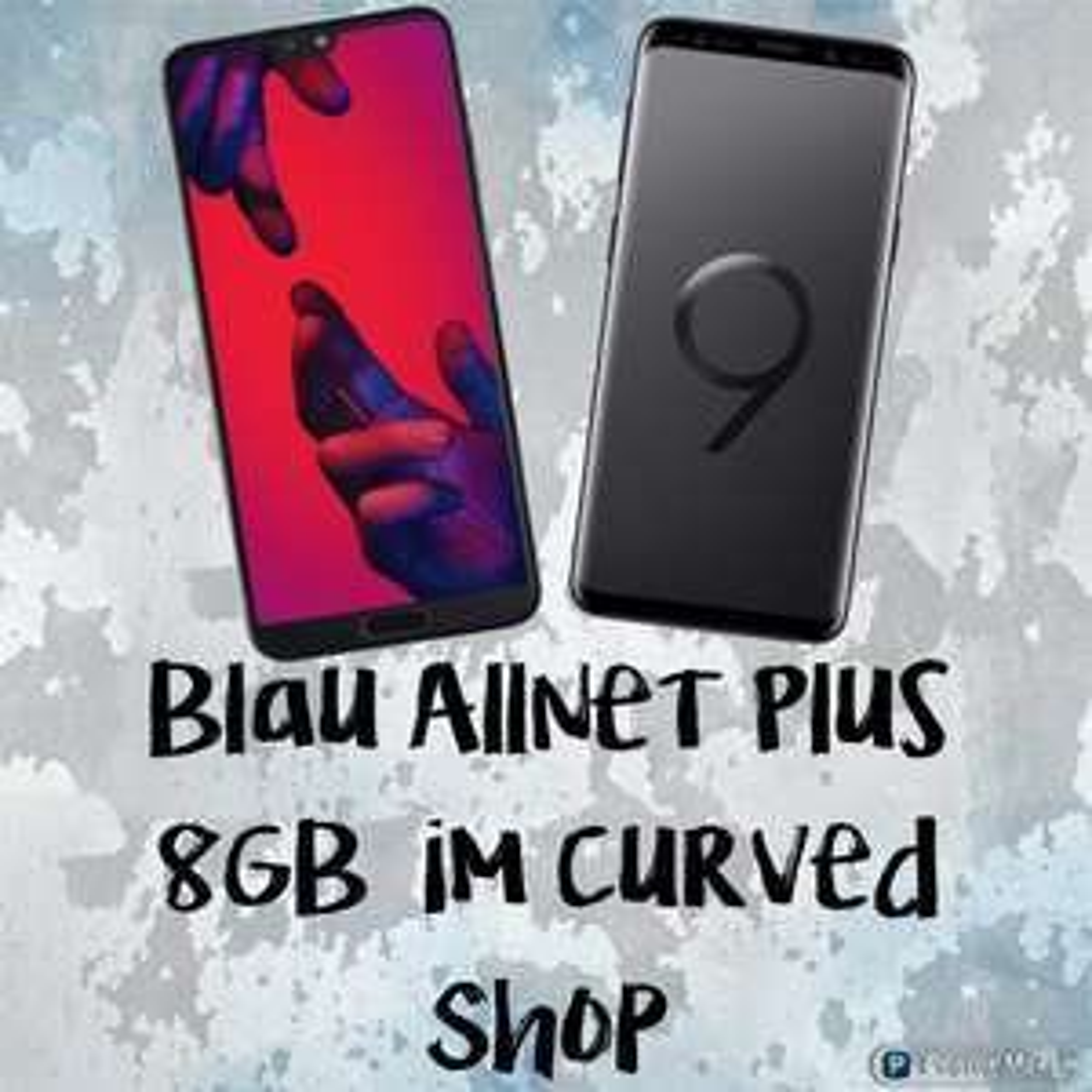 Blau Allnet Plus 8GB LTE + Huawei P20 Pro + Huawei Fitnessband 3E für 25,99€ im Monat + 1€ Zuzahlung + ohne AG *UPDATE*