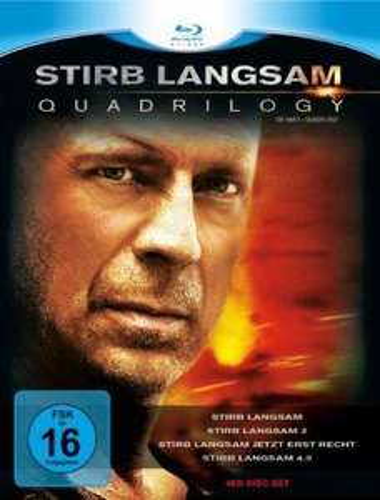 [Blu-ray] [lokal] Stirb Langsam - Quadrilogy 1-4 nur 20 € @Media Markt Hof