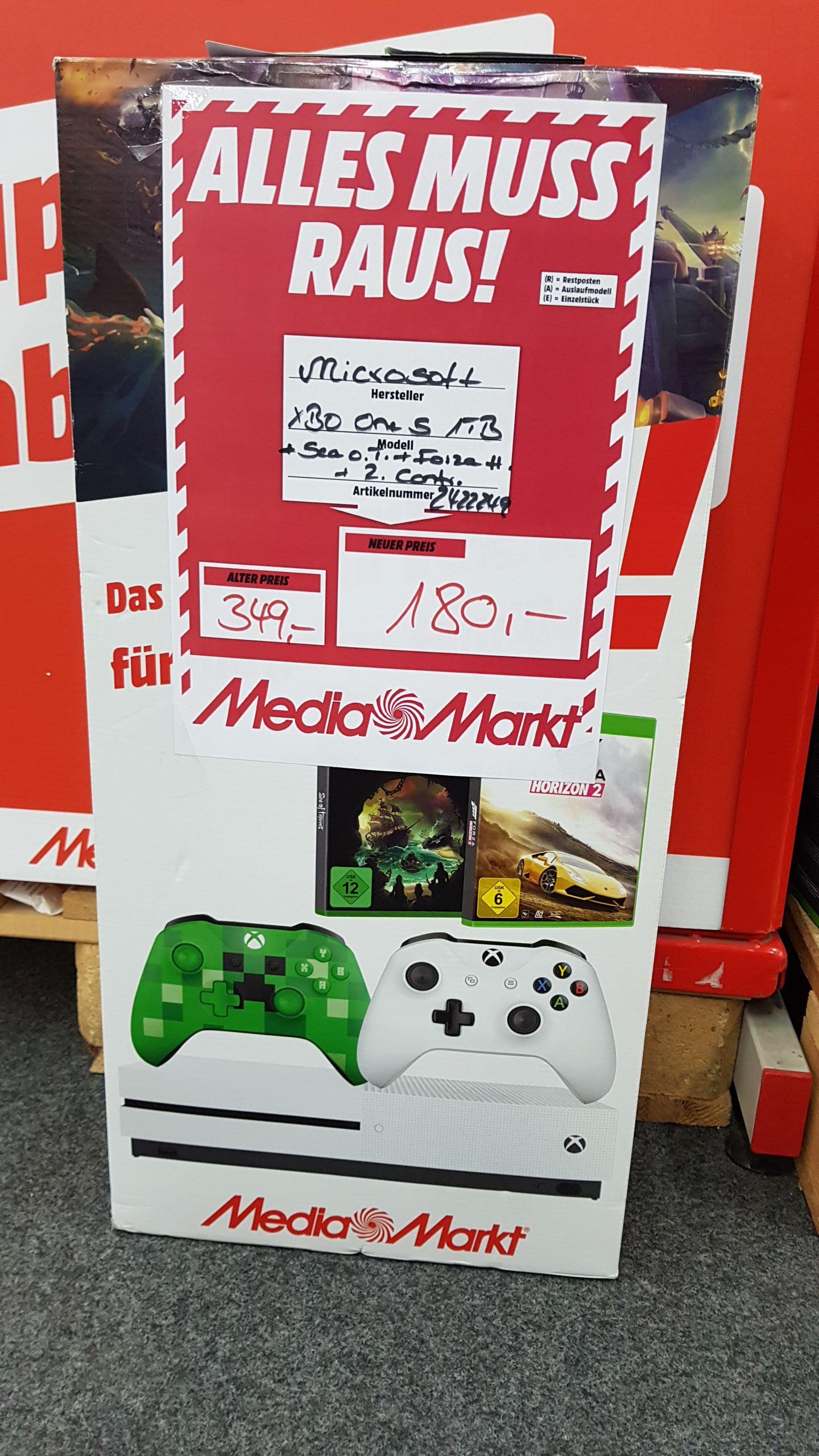 [Lokal] XBox One S Bundle 180€, XBox One X Bundle 349€ @ Mediamarkt Waiblingen