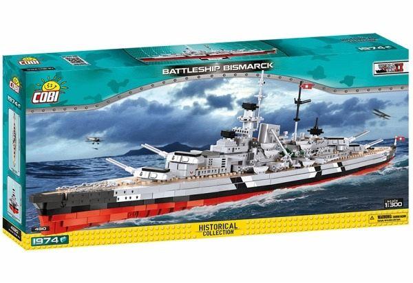 Cobi Bismarck 4810 Lego kompatibel