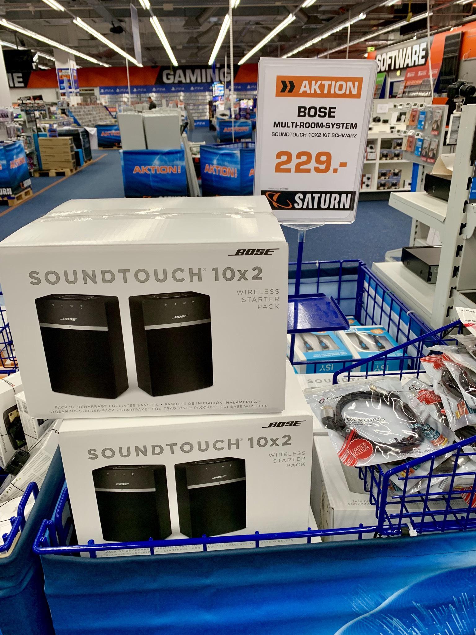 Bose Soundtouch 10X2 für 229€ [LOKAL Saturn Weiterstadt/LOOP5]