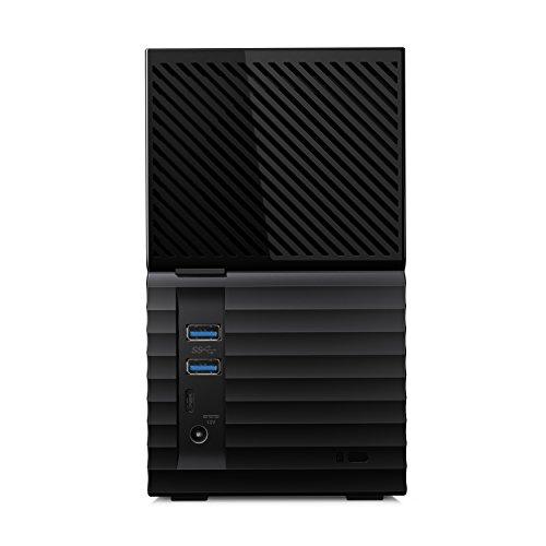 "Western Digital WD My Book Duo 20TB, USB-C 3.0 (3,5"", 2x 10TB WD RED, 256bit AES) WDBFBE0200JBK"