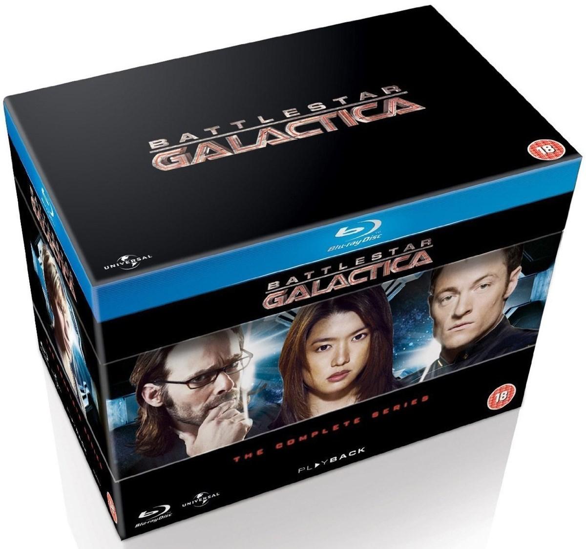 Battlestar Galactica The Complete Series (Blu-Ray) für 31.34€ @ Zoom