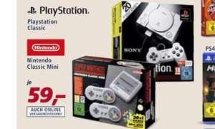 Snes Mini , Nintendo Classic mini für 59€