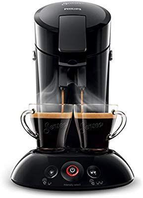 Philips Senseo HD6554/68 Kaffeepadmaschine (Crema Plus, Kaffeestärkewahl) schwarz [Amazon Kaffeemaschinen Sammeldeal]