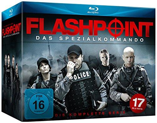 Flashpoint - Das Spezialkommando - Die komplette Serie [Blu-ray]  für 44,97€ [Amazon]