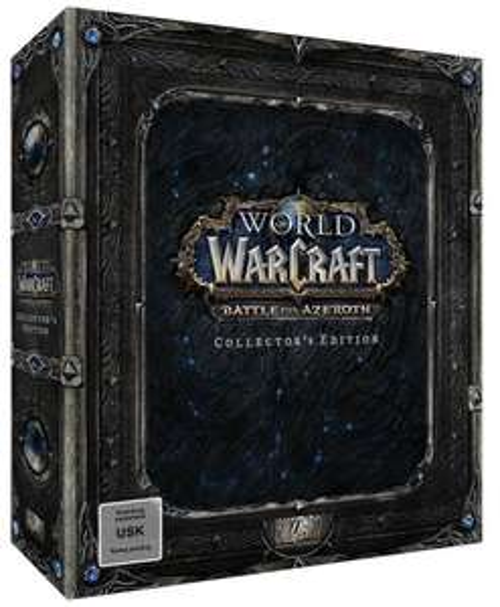 World of Warcraft: Battle for Azeroth Collector's Edition (PC) für 49,96€ (GameStop)