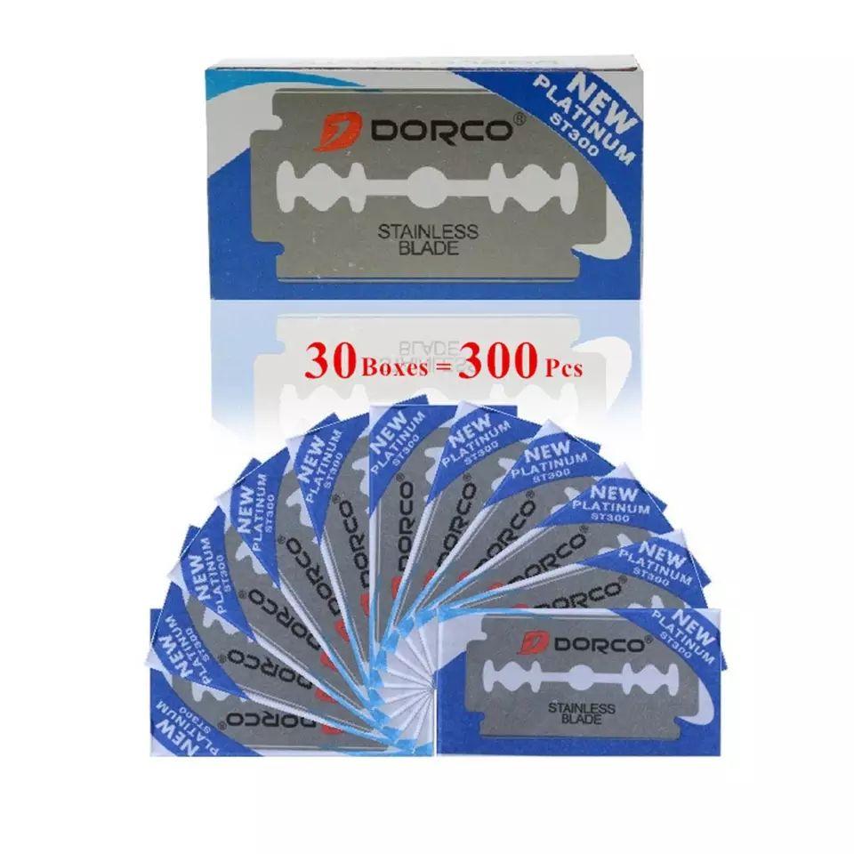 Dorco Rasierklingen 300 Stück bei Aliexpress