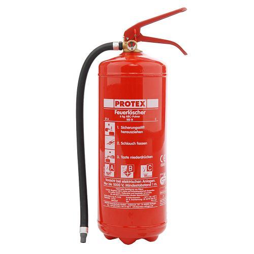 Protex PD 6 GA Feuerlöscher für nur 19,99 EUR inkl. Versand!