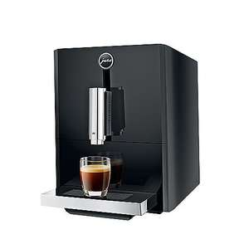 JURA A1 Piano Black Kaffeevollautomat (Kegelmahlwerk, 15 Bar, 1450W)