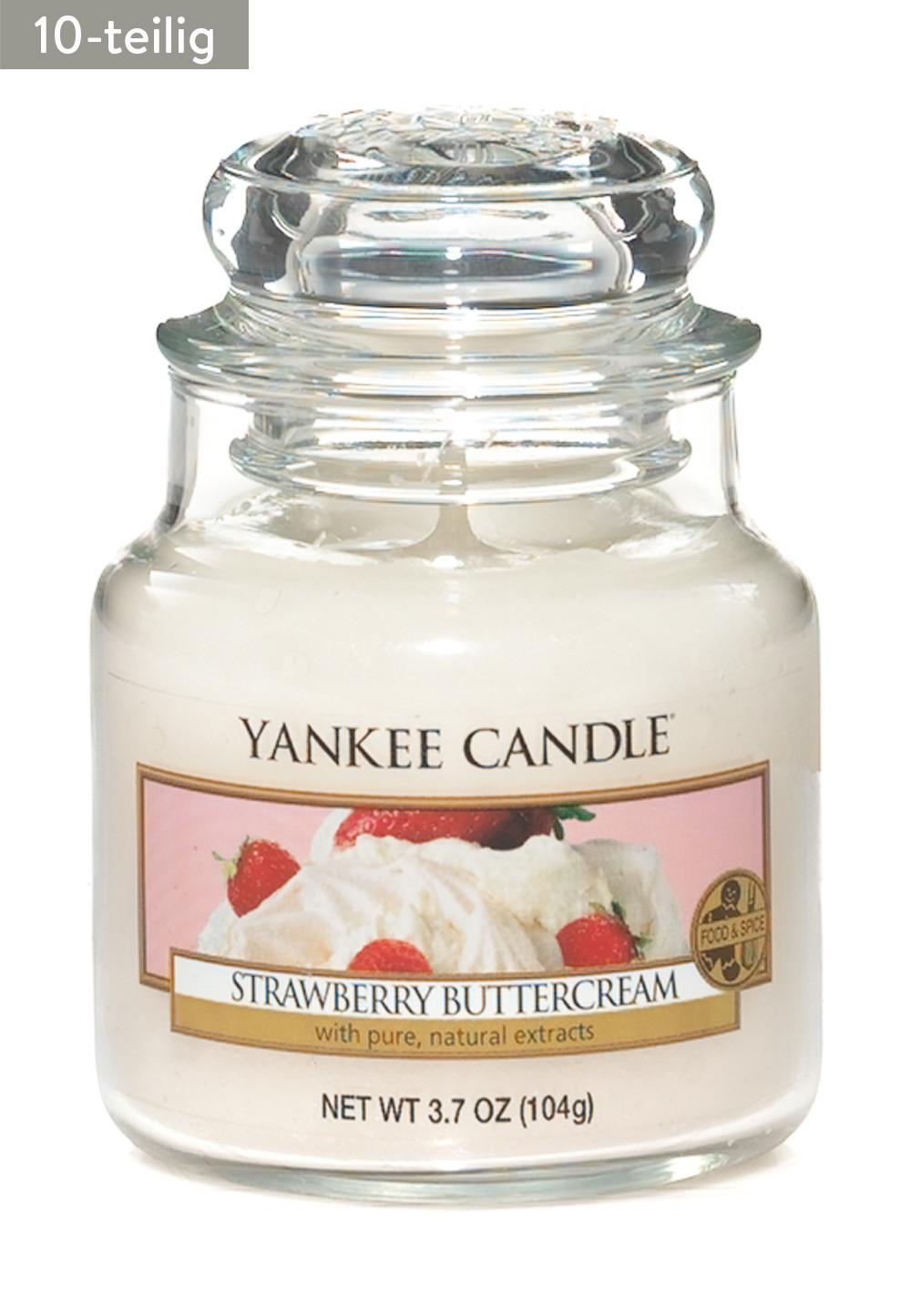 10-teiliges Duftkerzen-Set von Yankee Candle (je 104 g)