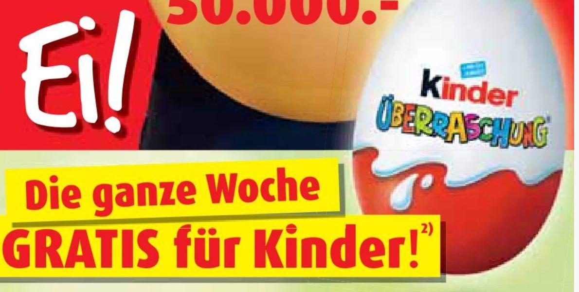 [Roller] Gratis Ü-Ei für jedes Kind in Begleitung mit einem Erwachsenen vom 15.04-18.04