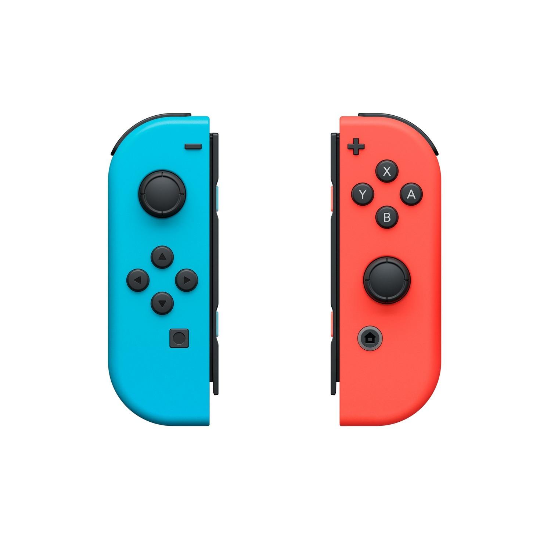 Nintendo Switch - Joy Con Neon Blau/Rot