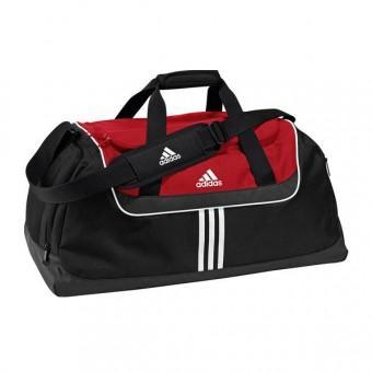 adidas Sporttasche Teambag M Schwarz/Rot für 19,54€