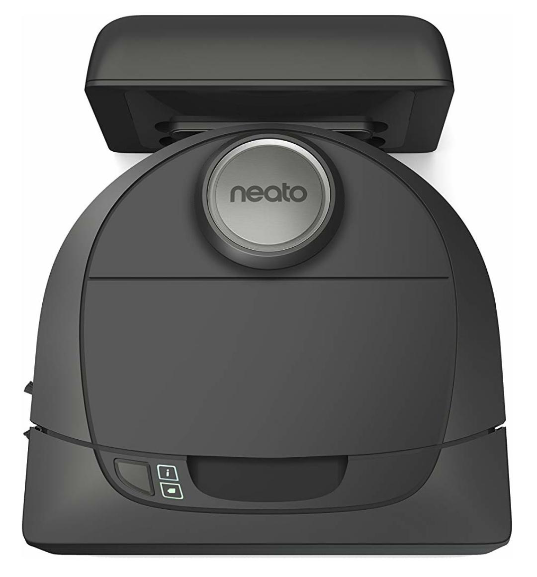 Neato Botvac D5 Connected 945-0239 (D502) selbstnavigierender Saugroboter inkl. Ladestation & App (kompatibel m. Alexa)