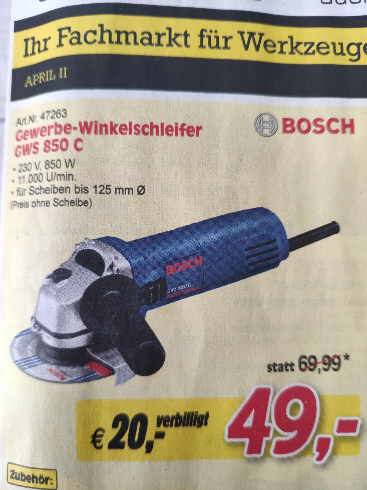 [AT] [ZGONC] Bosch Winkelschleifer GWS 850 C