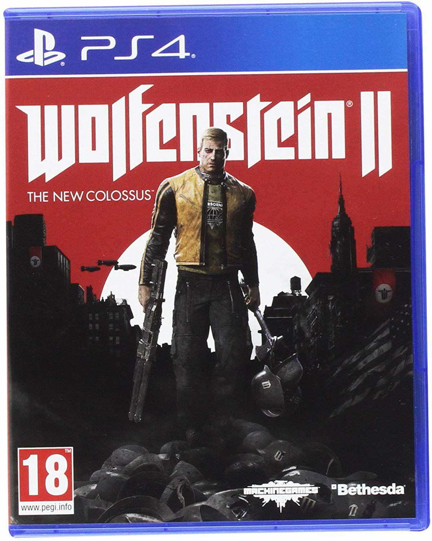 Wolfenstein 2: The New Colossus (PS4) für 7.98€ (Cdiscount)