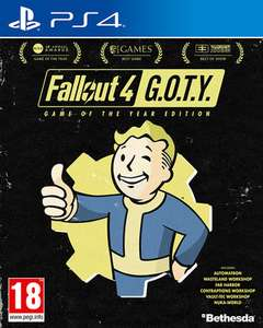 Fallout 4: Game of the Year Edition (PS4 & Xbox One) für je 14,85€ (ShopTo)
