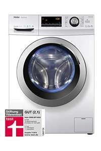 (Amazon.de) Haier HW80-BP14636 Waschmaschine Frontlader / A+++ / 8 kg / 1400 UpM / (11/2018 Test 2,1 GUT)