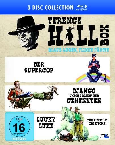 Terence Hill Box - Blaue Augen, flinke Fäuste 3 Blu-ray Filme