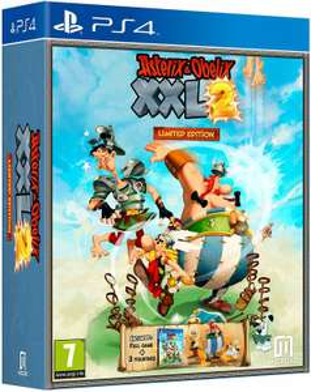 Asterix & Obelix: XXL 2 (Remastered) Limited Edition (Xbox One/PS4) inkl. 3 Figuren für 22.03€ (Shopto)