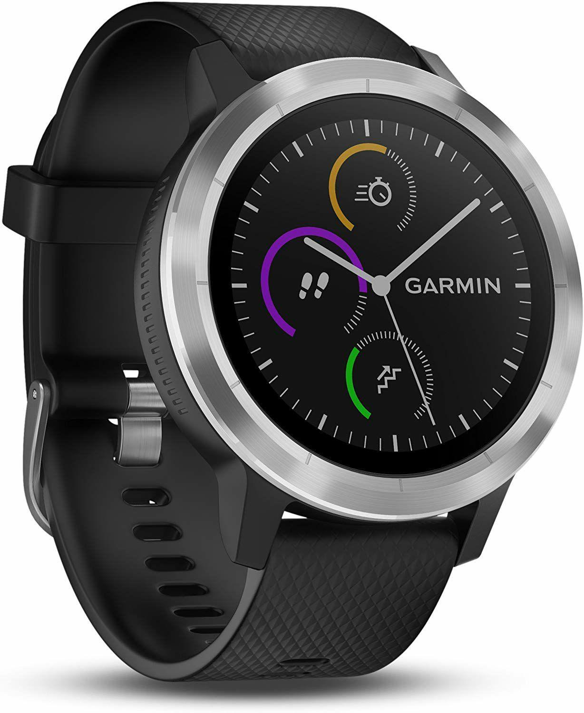 Garmin Vivoactive 3 SmartWatch - GLONASS, Bluetooth Smart, ANT+, NFC, GPS, schwarz oder weiß (Amazon UK)