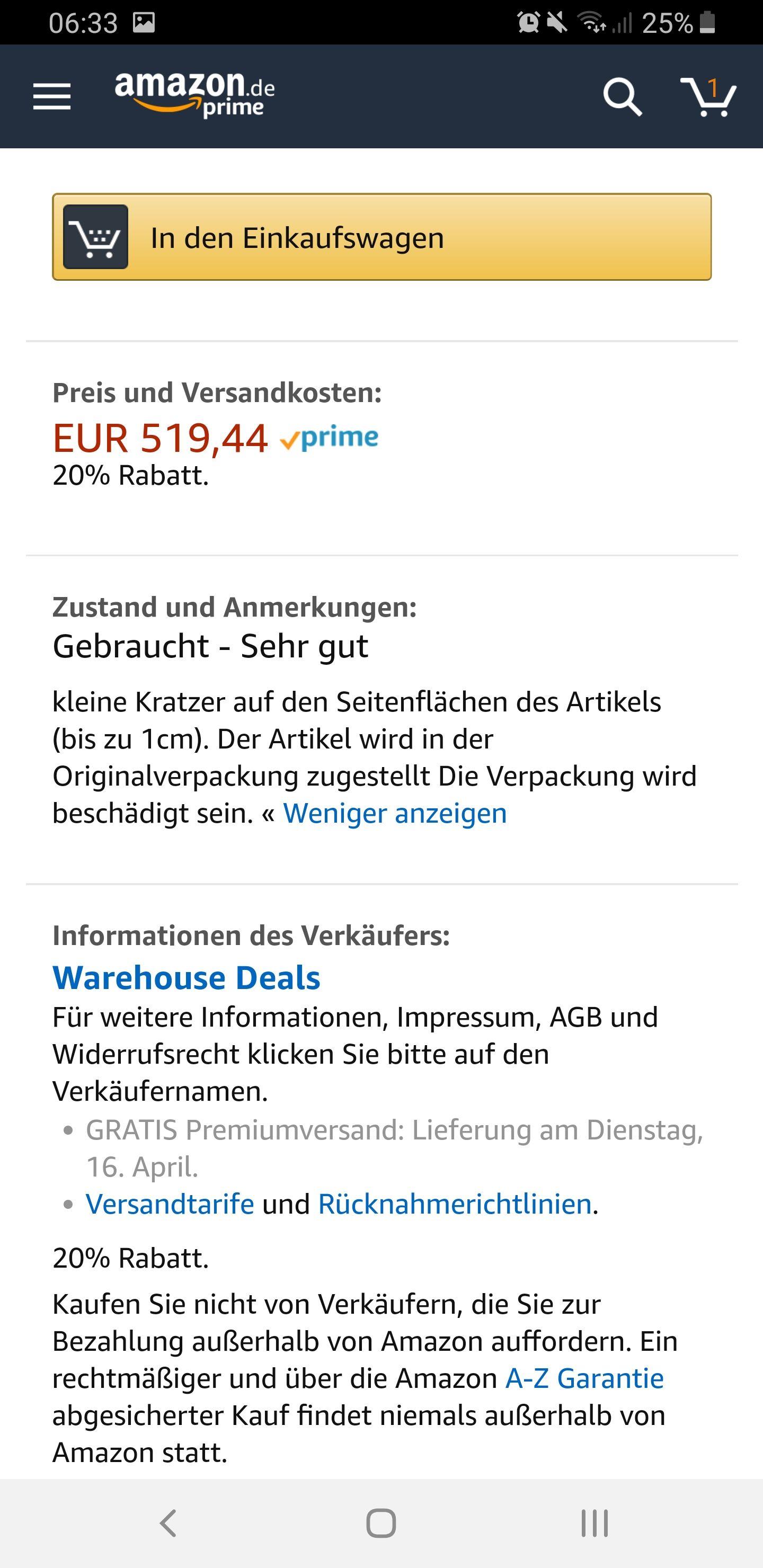 Warehouse Deals 20% - Sony KD-55XF 7596