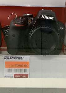 Nikon D3400 Kit 18-55mm [Lokal? Real Essen]