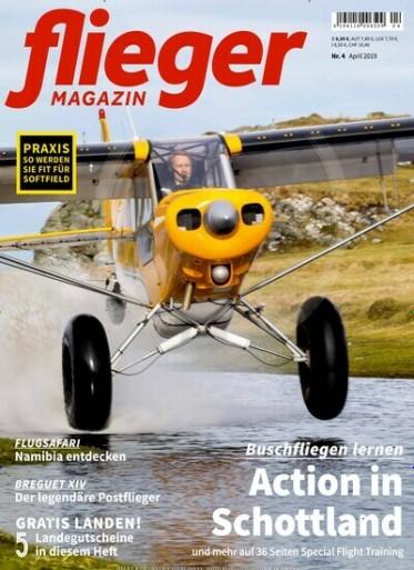 Fliegermagazin Abo (12 Ausgaben) für 81,60 € mit 75 € Amazon-Gutschein oder 70 € Verrechnungsscheck
