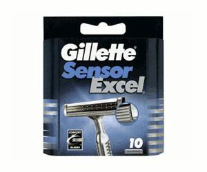 Für den Gillette SensorExcel 10 Ersatzklingen für nur 7,99 EUR inkl. Versand!