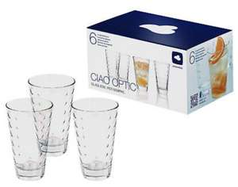 [Media Markt] LEONARDO Ciao Optic 6-tlg. Gläser-Set