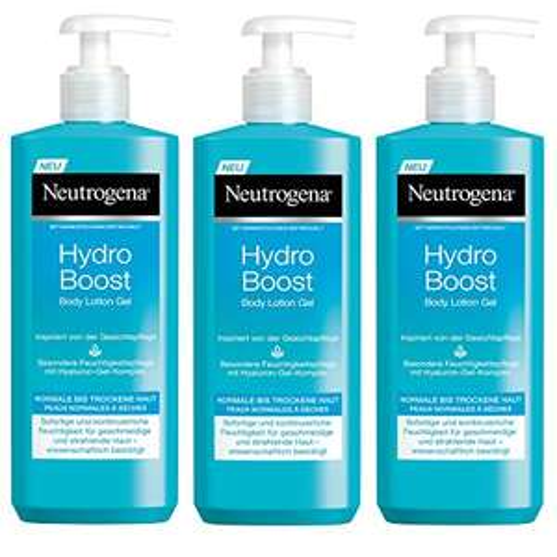 [Amazon Sparabo] Neutrogena Hydro Boost Body Lotion Gel 3 Flaschen
