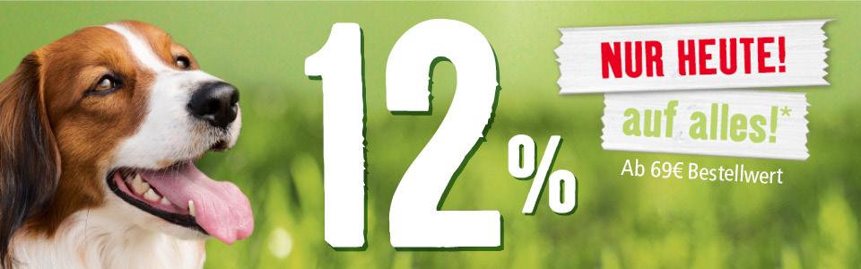 [Fressnapf] 12% auf Alles! (Auch auf Tiernahrung)