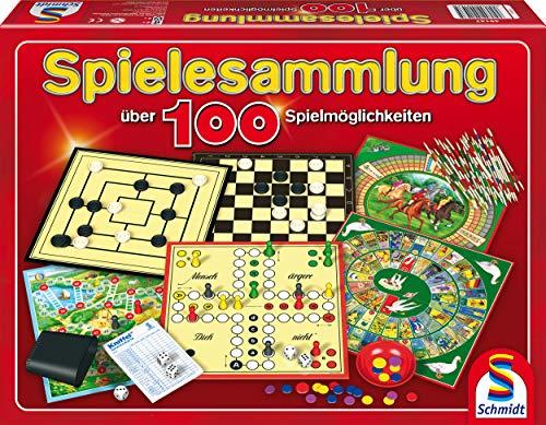 (Prime) Schmidt Spiele 49147 - Spielesammlung, MIt 100 Spielmöglichkeiten