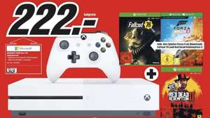 [Mediamart Gütersloh] Xbox One S 1TB + Forza Horizon 4 + Red Dead Redemption 2 + Fallout 76