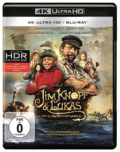 [Amazon] Jim Knopf & Lukas der Lokomotivführer - 4K Ultra HD (4K Ultra HD Blu-ray + Blu-ray) für 16,97€ (Amazon Prime)