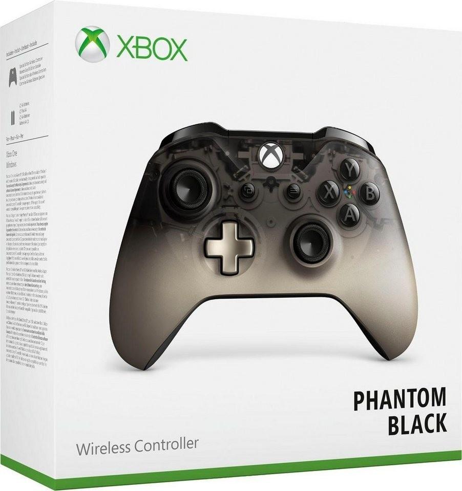 Microsoft Xbox One Wireless Controller Phantom Black SE für 39,94€ inkl. Versandkosten