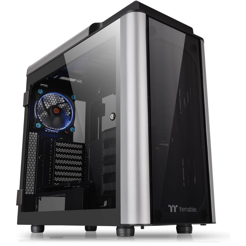Gehäuse Thermaltake Level 20 GT (4 Glasscheiben, bis E-ATX, werkzeuglose Installation, Kabelmanagement, 140mm-Lüfter, USB-C, 19.1kg)