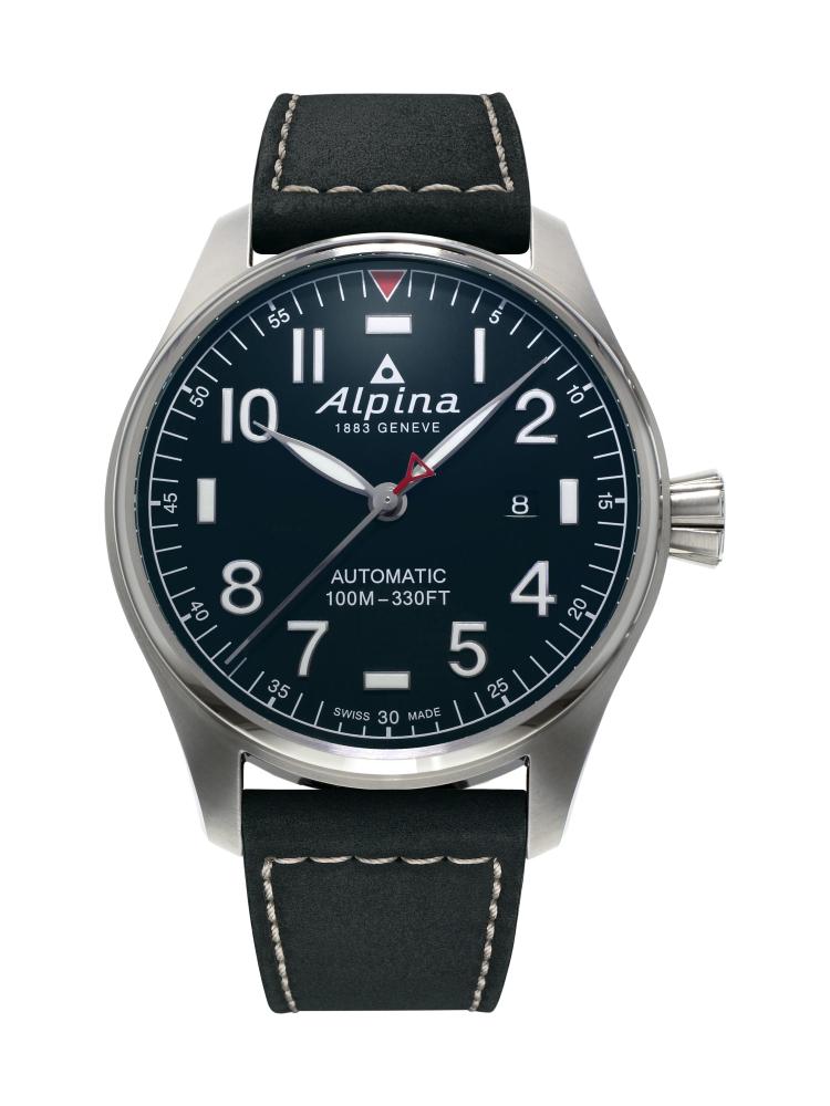 Schweizer Alpina Uhr für 449,- Euro anstatt Listenpreis 895,- Euro