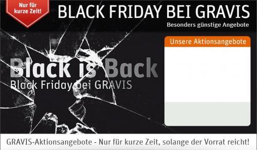 Gravis Black Friday