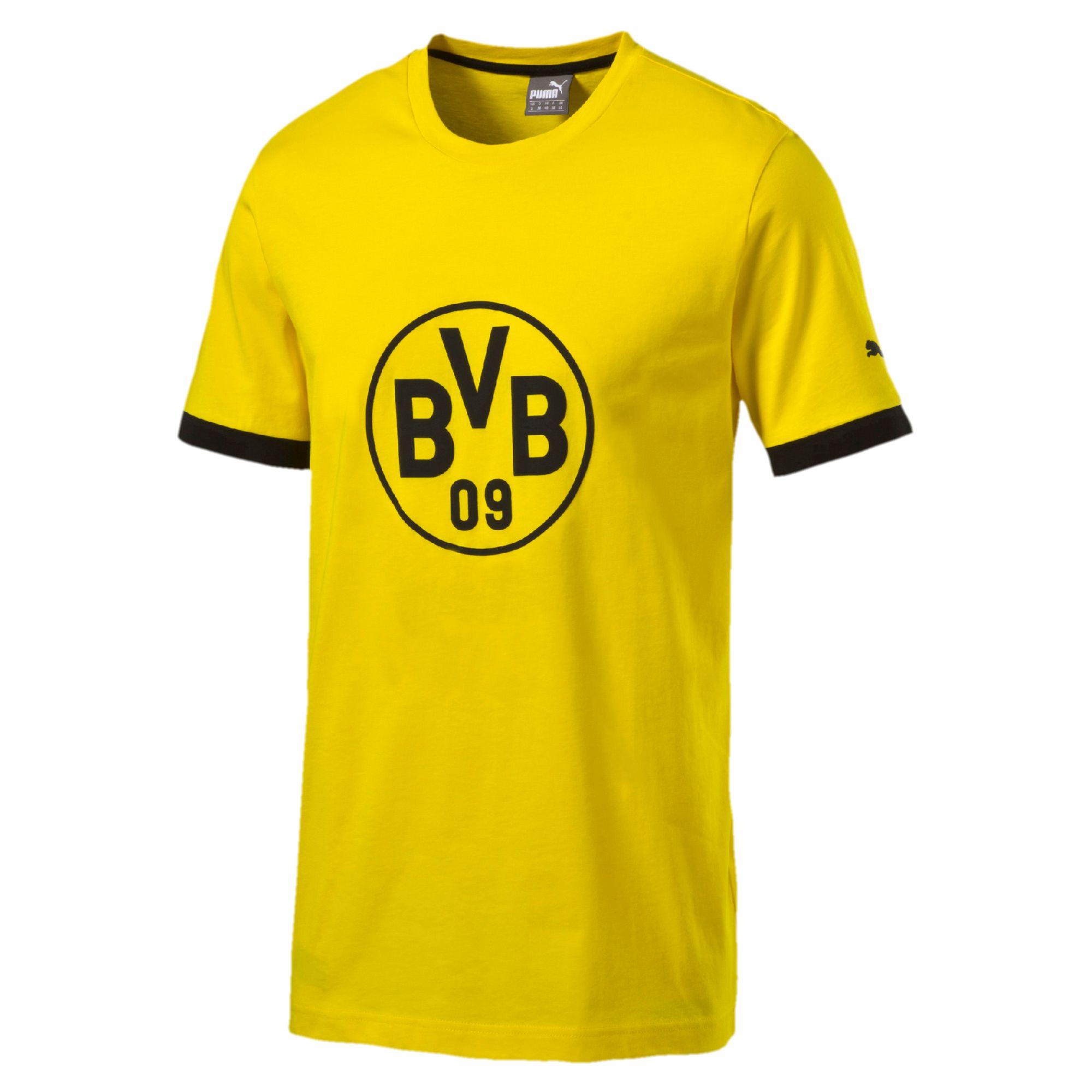 Puma BVB Borussia Dortmund Herren T-Shirt 17/18 für nur 11,11€ inkl Versand in M bis 2XL