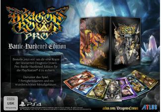 Dragon's Crown Pro - Battle Hardened Edition inkl. 7 Fertigkeitskarten & Steelbook (PS4) für 16€ versandkostenfrei (Saturn)
