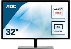 Saturn: AOC Q3279VWF QHD - 32 Zoll, WQHD, 5ms, 75hz, FreeSync, !! VA-Panel !!