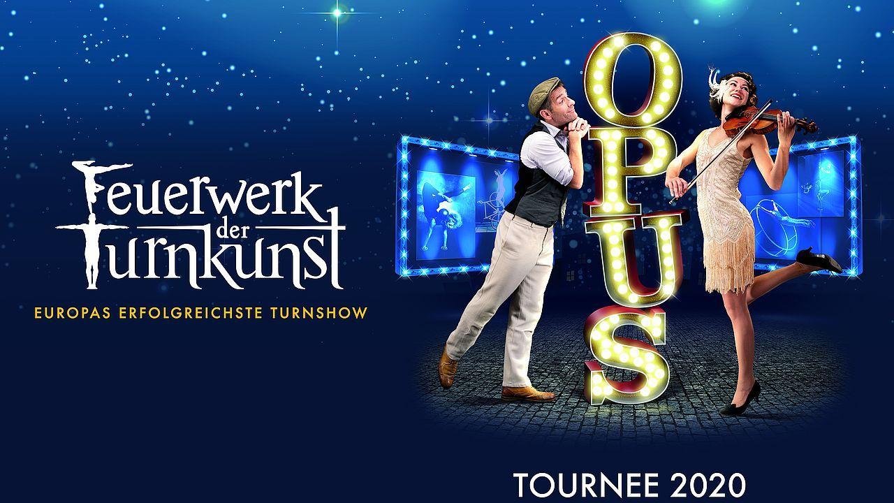 """Rabattierte Tickets für die Veranstaltungen """"Feuerwerk der Turnkunst"""""""