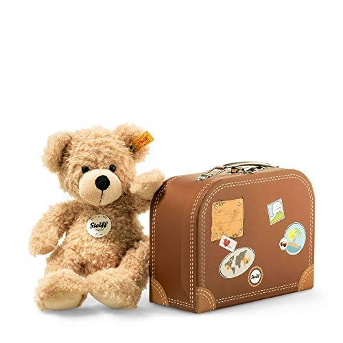 Steiff Stofftiere Sammeldeal z.B. Teddybär Fynn mit Koffer [Amazon Prime]